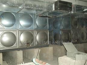 水处理组合式玻璃钢水箱