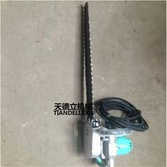ZGS-450切煤链条锯 1.5KW井下用合金链条锯 湿式切割链条锯
