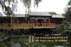 仿古室内装修老北京传统四合院设计