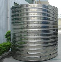 专业供应Sus304不锈钢圆形水箱   生产厂家