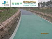 江阴彩色透水地坪工程案例