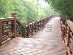 仿木栏杆,栈道栏杆,仿木护栏,仿木栈道,隔离护栏