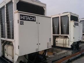 日立风冷螺杆式冷水机组