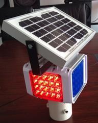 太阳能爆闪灯施工警示灯生产厂家汉晟能源