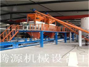 卓越品质保温结构一体化免拆模板设备生产模式