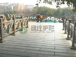 仿木护栏,仿木铺板,隔离护栏,亲水平台