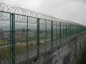 监狱钢网墙 监狱隔离网墙 监狱围墙隔离网