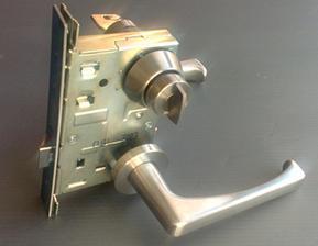 原装进口日本美和MIWA防火执手锁U9LA50-1