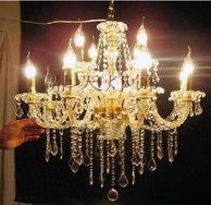室内装饰灯具水晶玻璃吊灯CT-8+4A11200