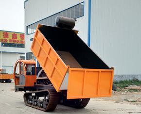 多功能履带拉沙车 3吨双缸发动机带自卸 南方水利用