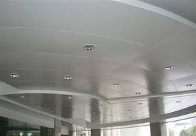 河源铝单板幕墙吊顶雨棚专车送货
