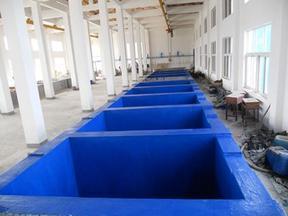 城酸碱废水处理池玻璃钢防腐