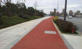 广西北海路面改色喷涂剂道路改色升级了