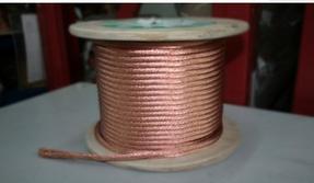 铜绞线厂家 编织护套软铜线多股镀锡软铜线