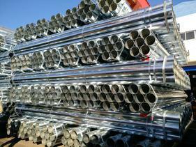 大量供应天津友发镀锌钢管 国标厚壁自来水管 300克锌层漏水包赔
