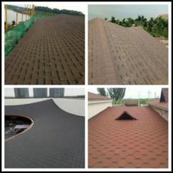 天信沥青瓦 玻纤瓦 杭州天信防水材料有限公司出品
