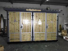 箱变厂家 630KVA箱式变电站 户外型木条景观式箱式变电站 箱式变压器