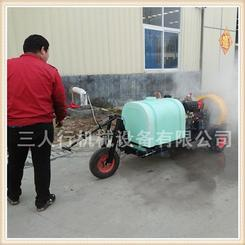 果园专用的牵引式喷雾器三人行更值得信赖