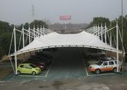 贵州车棚膜结构 停车棚张拉膜 电动车棚 洗车棚 停车场遮阳棚 膜结构的停车棚要多少钱