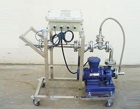 烟台瑞晖化工液体自动灌装200公斤大桶计量