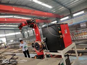 智能龙门钢筋网片焊接机器人