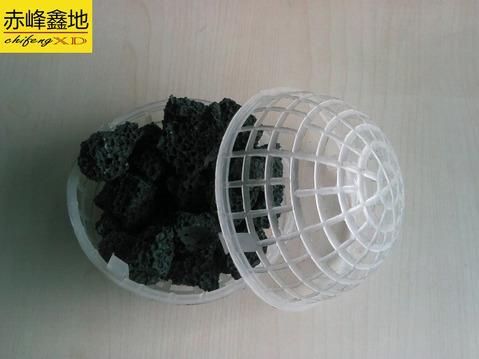 火山岩悬浮球