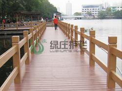 仿木,仿木护栏,河道护栏,绿化护栏,园林护栏,隔离护栏
