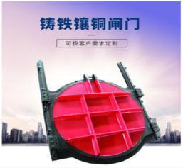 闸门1*1 铸铁闸门钢制闸门螺杆启闭机