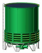 辽宁循环水冷却塔