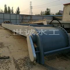 雨水泵站不锈钢回转式格栅清污机