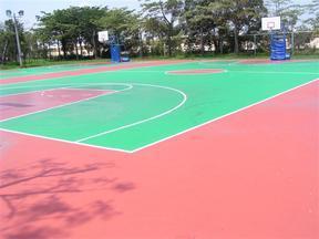 天津篮球场硅PU铺装-硅PU地面施工-硅PU地坪铺设-硅pu材料销售