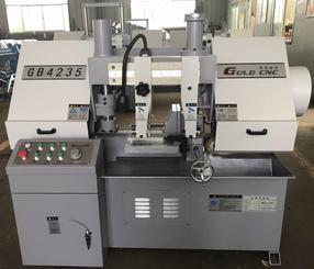 GB4235半自动卧式金属带锯床  购买锯床如何选择生产厂家