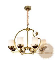 灯饰批发厂家-家居新中式灯具-铜木源灯饰招商