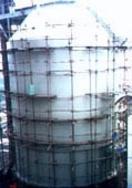 供应油罐安装