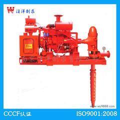 XBC柴油机深井消防泵组柴油机水泵柴油机消防泵立式柴油机泵