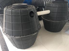 双瓮式化粪池