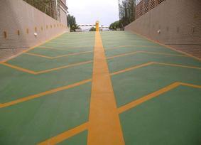 深圳彩色沥青路面,彩色透水混凝土地坪价格