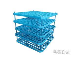 包头冷却塔塑料网格板填料 -PP材质 多款尺寸可选