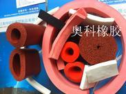 硅胶发泡密封条/硅胶海绵耐热保温管