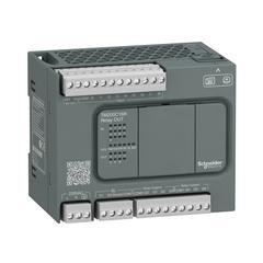 Schneider一体型TM200C16R可编程逻辑控制器,16点IO,继电器输出