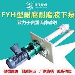 FYH型工程塑料耐腐耐磨液下泵 脱硫液下泵 废液泵 废水泵