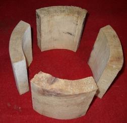供应空调管木托