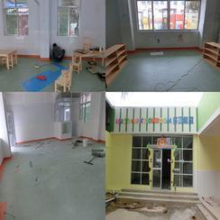 深圳幼儿园防滑PVC塑胶地板  耐磨PVC塑胶地板价格
