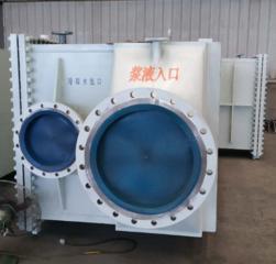 普瑞普勒 浆液冷却换热器 钢厂消白项目设备换热器