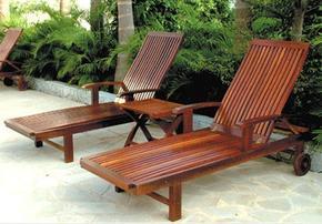 一桌四椅/实木座椅/遮阳伞/休闲座凳/善群景观