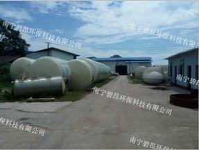 钦州玻璃钢化粪池污水罐厂家价格