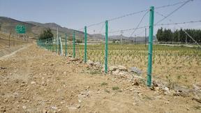 安平博安厂家直销刺丝网立柱,养殖专用网