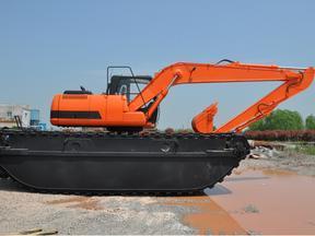 小松215水陆两用挖掘机租赁