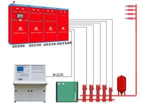 武汉中电喷淋泵、消防泵控制柜设备厂家直销37KW双电源控制柜一用一备一对一CCCF认证