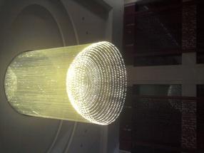 上海光纤灯-光纤大堂吊灯